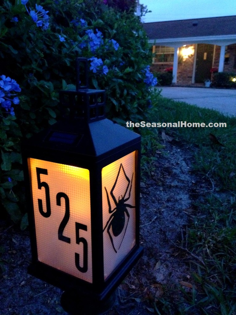 Diy Solar Address Sign Gift For Dad 171 The Seasonal Home